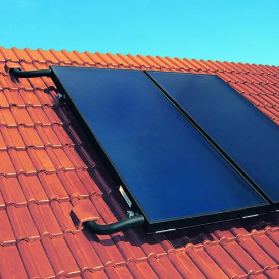 Panou Solar Viessmann Vitosol 200-FM cu boiler bivalent Vitocell de 300L cu modul SDIO/SM1A (SK07387)